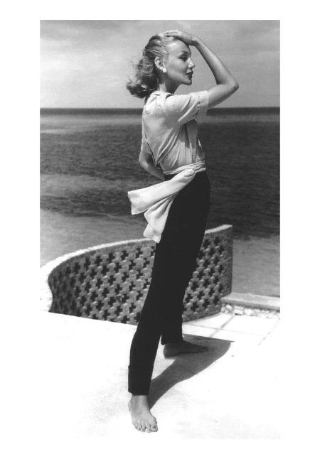 Liz Pringle,  Vogue, May 1, 1953 John Rawlings
