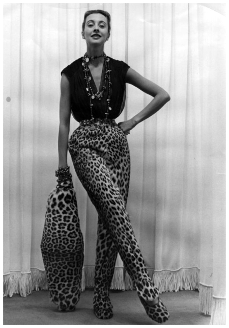 Marie_Therese A look by Pierre Balmain in 1951