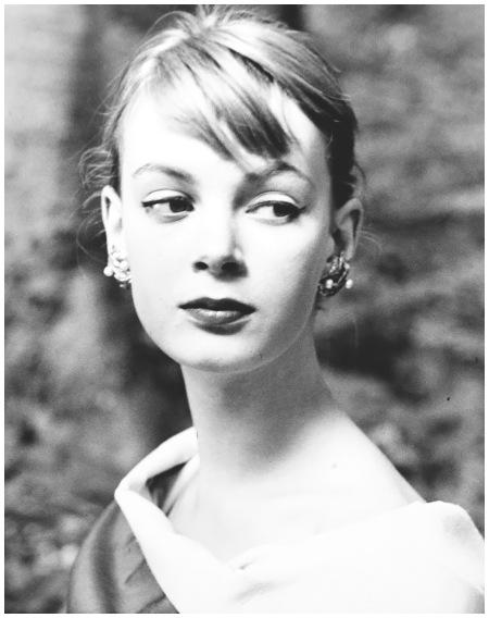 Nena von Schlebrugge, first test shots, Stockholm, 1955