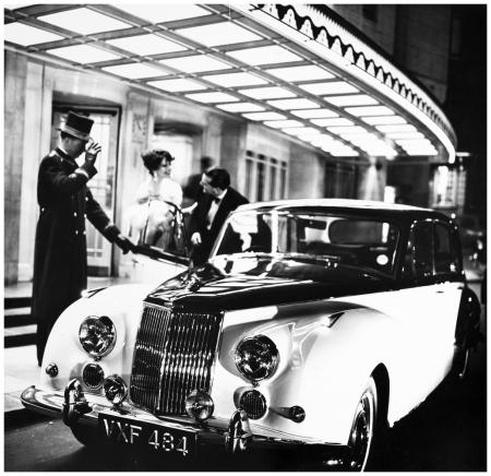 Pagan Grigg and Robin Tattersall, Armstrong Siddeley…, 1958 Photo Norman Parkinson b