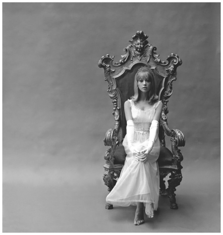 Patty Boyd Evening Gown 1960s Photo John French