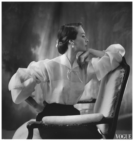 Photo Henry Clarke 1951 Lanvin