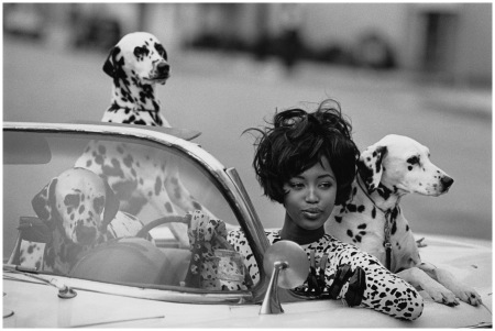 Photographed by Peter Lindbergh, Vogue, June 1, 1990