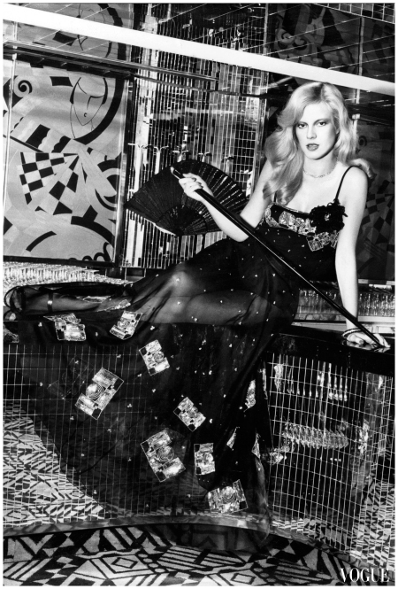 Sylvie Vartan par Tony Kent, Vogue Paris (1974)