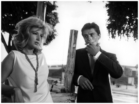 Alain Delon and Monica Vitti L'eclipse 1962 01