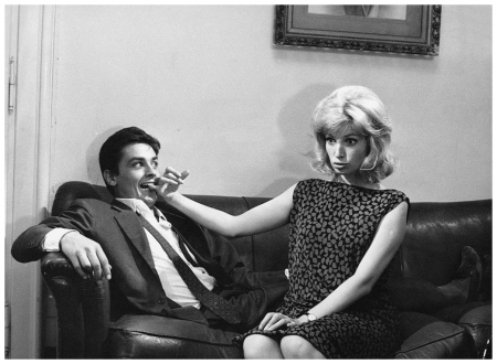 Alain Delon and Monica Vitti L'eclipse