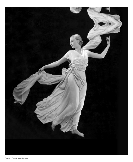 Corbis flowing dress by Madeleine Vionnet George_Hoyningen-Huene