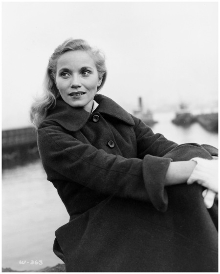 Eva Marie Saint. %22The Hook%22 1954, %22On the Waterfront%22 Directed by Elia Kazan
