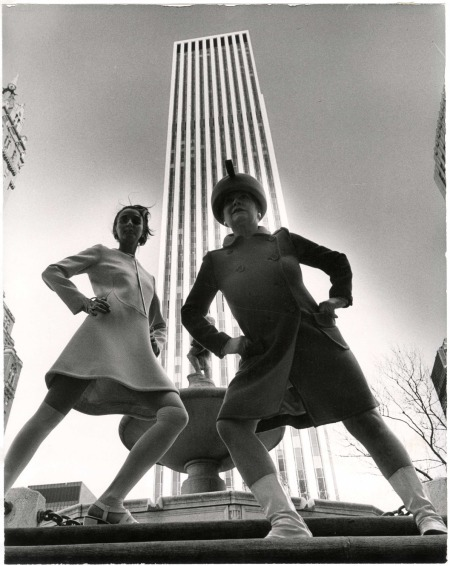 General Motors Building New-York Historical Society, Photo Bill Cunningham 1968-1976