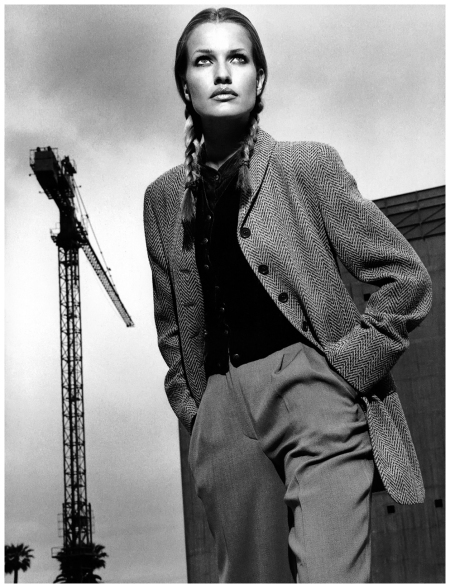 Karen Mulder Photo Helmut Newton 1994