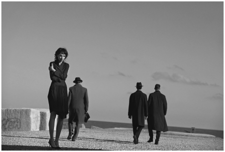 Mariacarla Boscono by Peter Lindbergh (Desert Hearts - Vogue Italia February 2014) 11