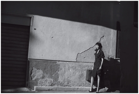 Mariacarla Boscono by Peter Lindbergh (Desert Hearts - Vogue Italia February 2014) 3