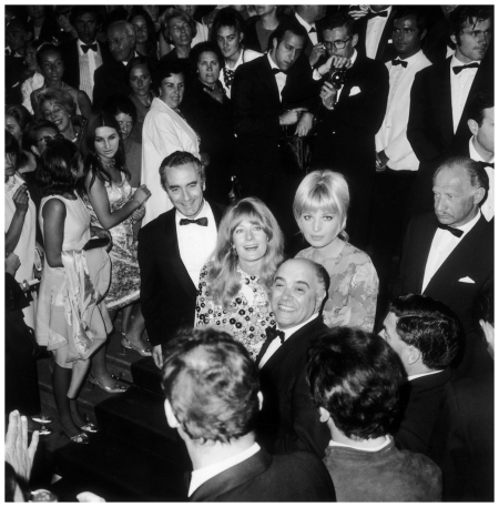 Michelangelo Antonioni Monica Vitti and Vanessa Redgrave Cannes 1967