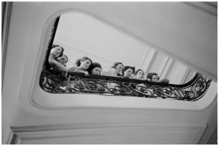 Paris fashion house, 1947. Photo Henri Cartier-Bresson:Magnum.