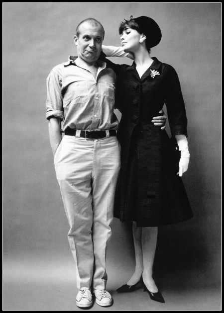 Photographer Mark Shaw with model Sondra Peterson, 1960s