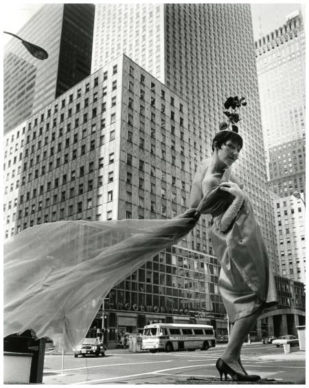 Socony-Mobil Building New-York Historical Society, Photo Bill Cunningham 1968-1976