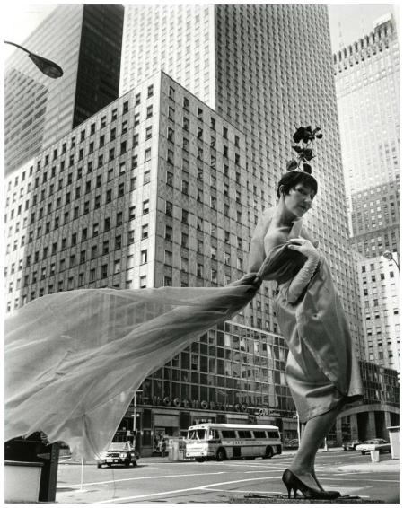 Socony-Mobil Building New-York Historical Society, Photo Bill Cunningham 1968-1976