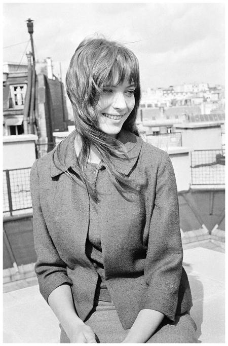 Anna Karina photo Henri Bureau-Sygma-Corbis