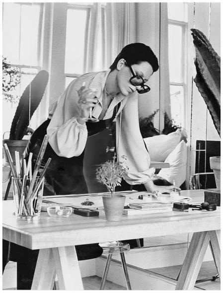 Elsa Peretti Duane Michals, Vogue, December 1974