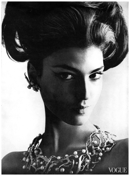 Photo Joseph Leombruno and Jack Bodi, Vogue, January 15, 1964 Benedetta Barzini