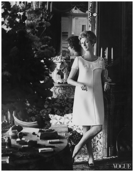 Photographed by Henry Clarke, Vogue, January 1, 1967 Marella Agnelli
