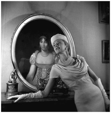 Balmain à la Malmaison - 1955 Photo Pierre Boulat