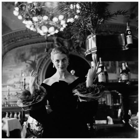 Capucine in Formal Evening Wear by Givenchy 1954 Photo Genevieve Naylor