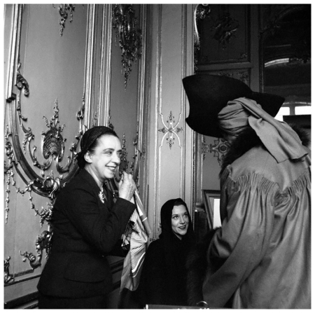 Elsa Schiaparelli and Models