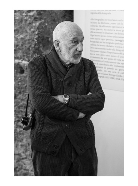 Gianni Berengo Gardin Exhibition opening Photo Riccardo Tenca, 2014