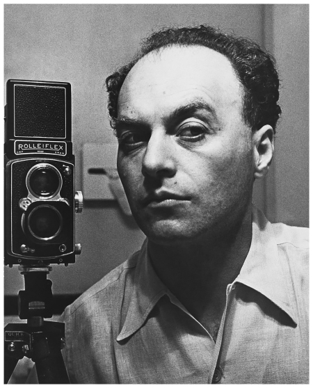 Hermann Landshoff Self-portrait, New York 1942