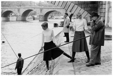 Les berges de la seine - Paris, 1967