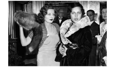 Talullah Bankhead and Toto Koopman at the premiere of the film The Private Life of Don Juan in England, September 1934 Hulton-Deutsch Collection:Corbis