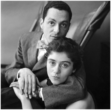 Diane and Allan Arbus, Dec. 8, 1950 - Frances McLaughlin—Condé Nast