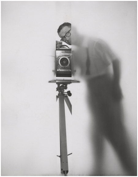 Erwin Blumenfeld – Self Portrait New York, 1950