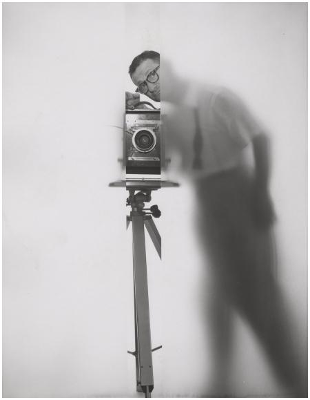 Erwin Blumenfeld – Self Portrait New York, 1950