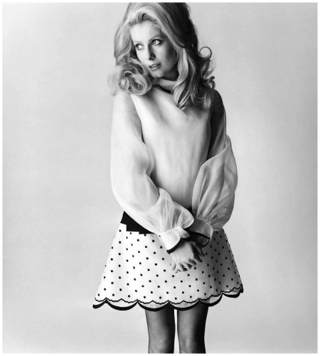 Catherine Deneuve Photo David Bailey 1965