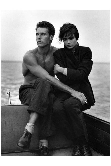 December 1982 Bruce Hulse and Talisa Soto photo Bruce Weber