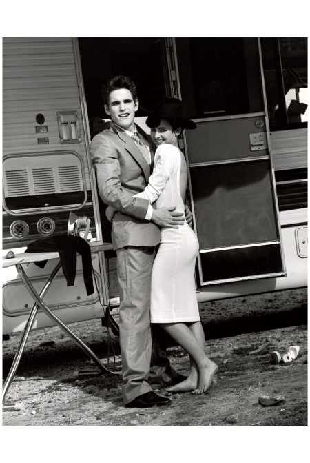 Matt Dillon and Laura Krupinski July 1983 Photo Bruce weber