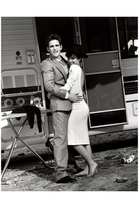 Matt Dillon and Laura Krupinski July 1983 Photo Bruce weber