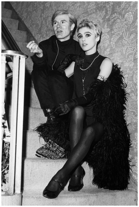 Andy Warhol and Muses Edie Sedgwick Corbis Archive 1966