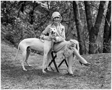 April 14, 1925. %22Margaret Gorman with 'Long Goodie.' %22 Margaret, the Girl With the Crocodile Car, was the first-ever Miss America. National Photo Company Collection glass negative, Library of Congress