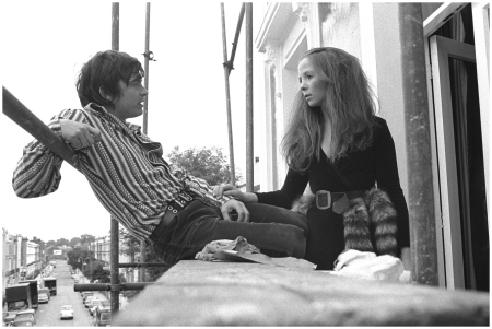 David Bailey and Penelope Tree share a moment, London, circa 1965 Getty Archive