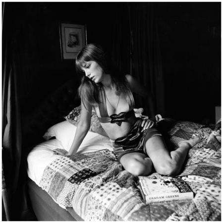 Jane Birkin, in París 1974 Getty Archive