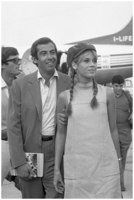 FondaJaneeVadimRogerVeaeroportoTessera1967