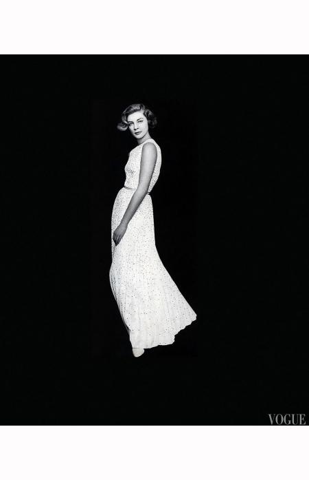 Lauren Bacall Vogue, November 15, 1959  b