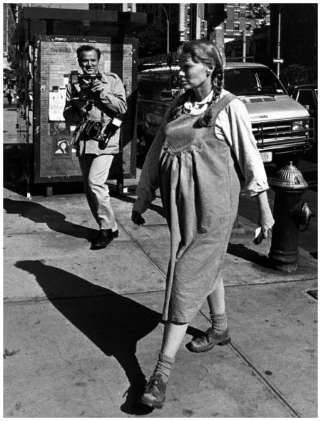 Mia Farrow 1989 Ron Galella
