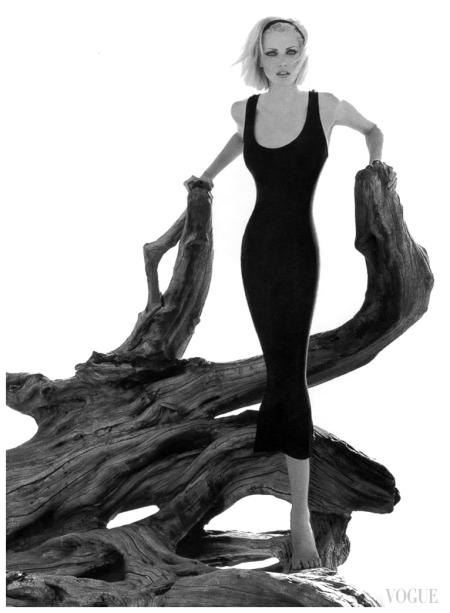 Nadja Auermann US Vogue September 1995 Photo Herb Ritts