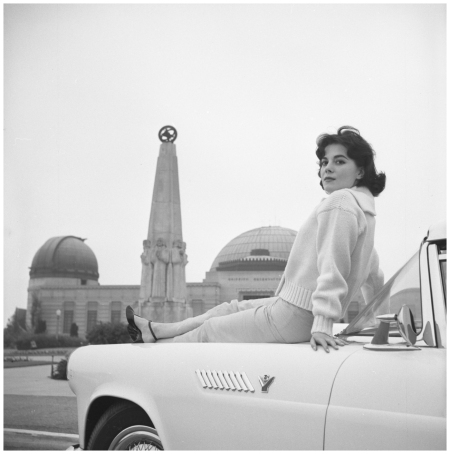 Natalie Wood, 1957 Charlotte Brooks; Library of Congress