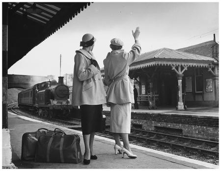 Railway Fashion Shoot