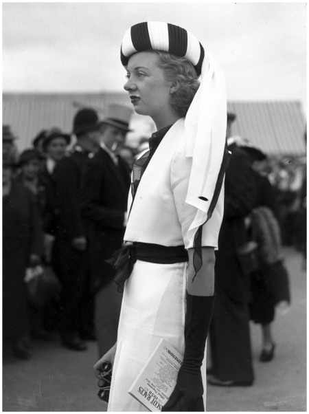 %22Fashions at the Royal Ascot Races%22- 1938 by Science & Society Picture Library b